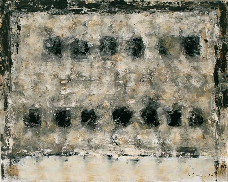 Iz cikla ZADNJA VEČERJA, 80x110cm, olje-platno, 2004