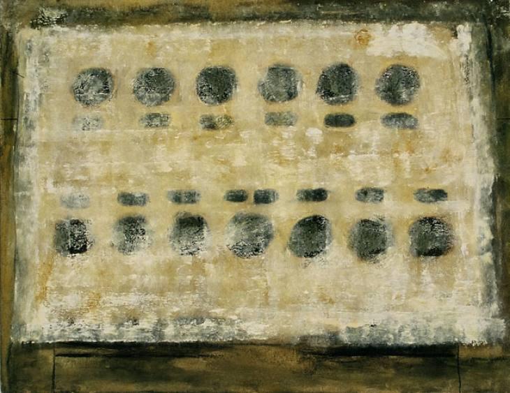 Iz cikla ZADNJA VEČERJA, 70x90cm, olje-platno, 2004