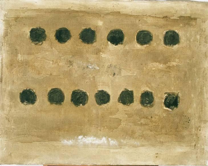 Iz cikla ZADNJA VEČERJA, 70x90cm, akril-platno, 2004