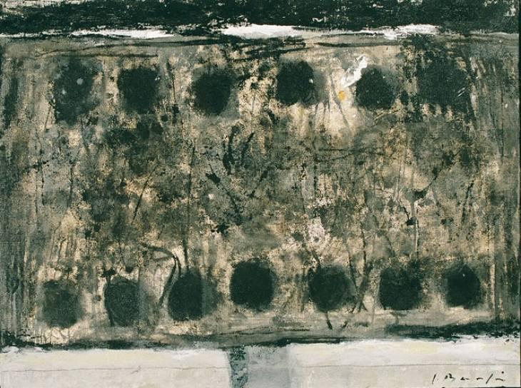 Iz cikla ZADNJA VEČERJA, 50x70cm, akril-platno, 2003