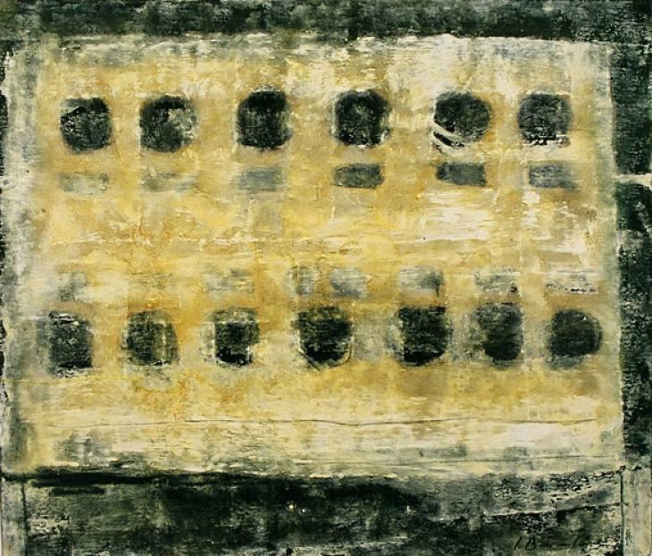 Iz cikla ZADNJA VEČERJA, 50x60cm, olje-platno, 2003