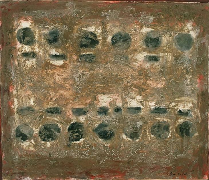 Iz cikla ZADNJA VEČERJA, 60x70cm, olje-platno, 2003