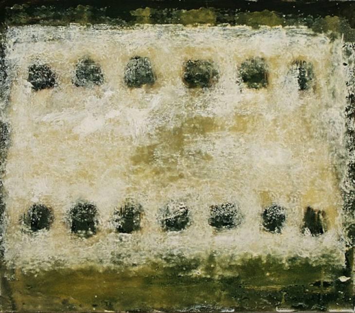 Iz cikla ZADNJA VEČERJA, 70x80cm, olje-platno, 2003