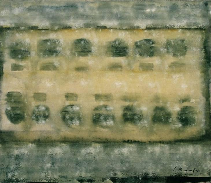 Iz cikla ZADNJA VEČERJA, 70x80cm, olje-platno, 2002
