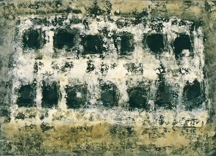 Iz cikla ZADNJA VEČERJA, 50x70cm, olje-platno, 2004