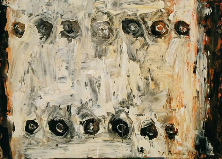 Iz cikla ZADNJA VEČERJA, 50x70cm, olje-platno, 2002