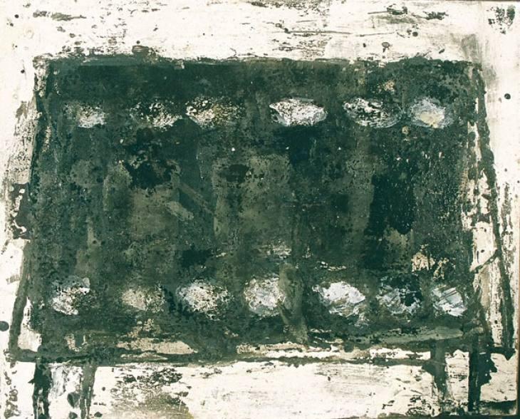 Iz cikla ZADNJA VEČERJA, 40x50cm, olje-platno, 2003