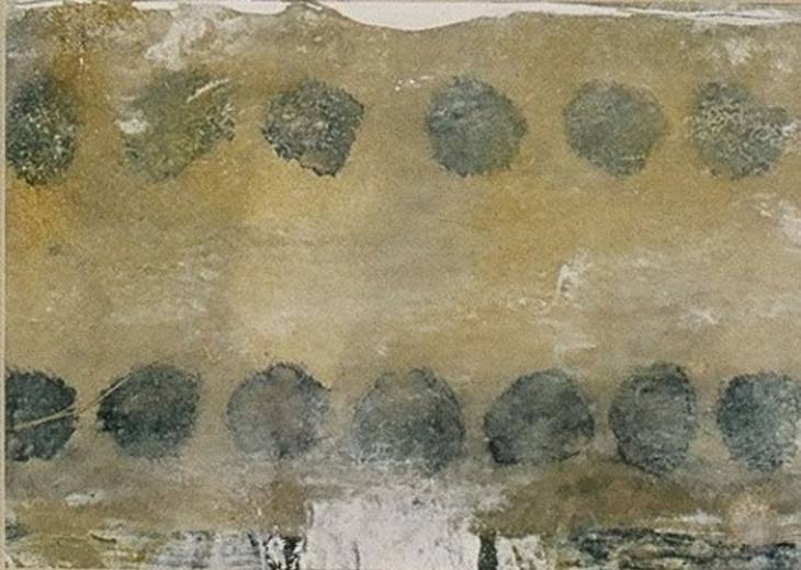 Iz cikla ZADNJA VEČERJA, 18x12cm, olje-papir, 2002
