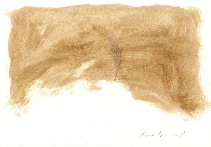 DREVO-III,20,5X29,5cm,akril-papir,2009